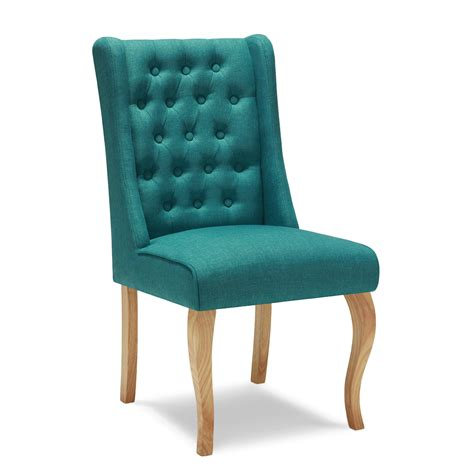 Kyrra Tufted Linen Wingback Dining Chair by Tufted Wingback Dining Chair Leather Dining Room Kitchen