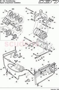 Aston Martin Db7  1997  Engine Compartment Installation Parts