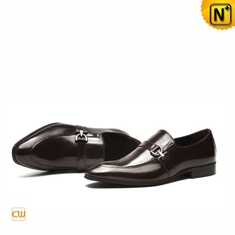 Genuine Italian Leather Dress Shoes for Men CW763317