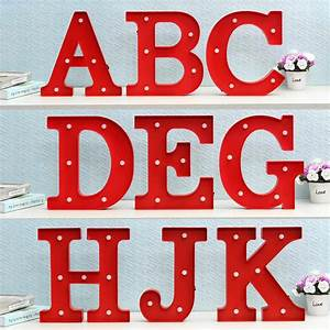 led night light lamp kids marquee letter lights vintage With holiday marquee letters