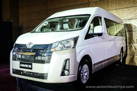 world premiere  ph  toyota hiace starts  php