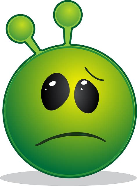 alien smiley emoji  vector graphic  pixabay