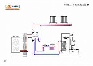 Sealed System With A Heat Pump  A Radiator Circuit  An