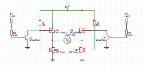 Arduino Mosfet Bridge Correct Electrical