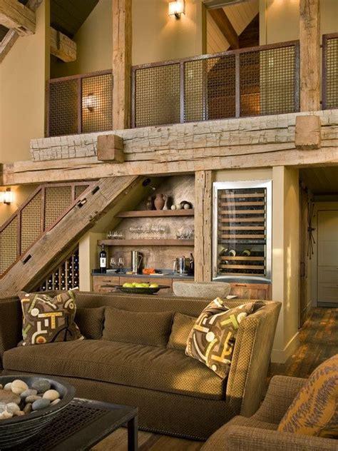 furniture contemporary lodge  rustic living room