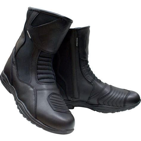 waterproof leather motorcycle boots oxford cheyenne short ankle waterproof motorcycle bike