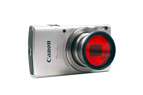 canon point and shoot canon powershot elph 180 spectrum converted point and