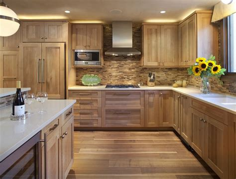 wooden kitchen design ideas 51 warm wooden kitchen designs in modern classic style 1634