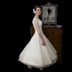 wedding dresses alluring gown part 3 With tea length vintage wedding dresses