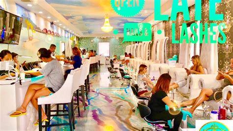 nail salon nearby open late nab nail bar nail salon spa