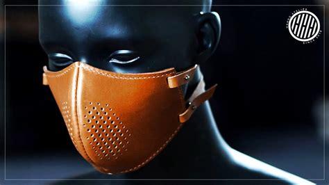leathercraft making  steampunk mask  pattern diy