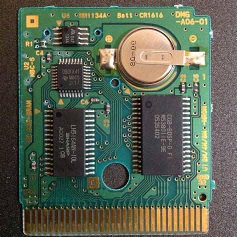 How To Diy A Game Boy Flash Cartridge With A Rom Adapter