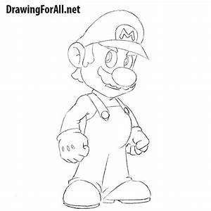 How to Draw Mario | Drawingforall.net