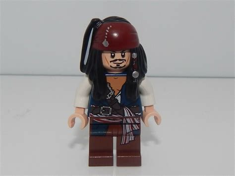 Lego Minifigure Pirates Of The Carribean Captain Jack