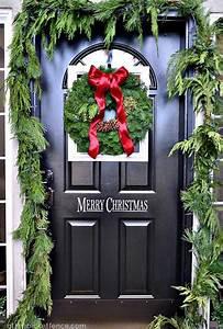 Wonderful, Christmas, Front, Door, Decorations, Ideas