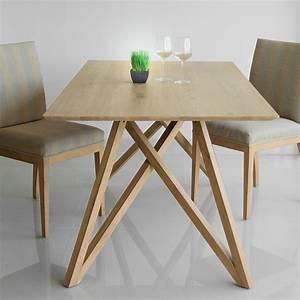 Table Chene Massif : table de salle manger spider ch ne massif ~ Melissatoandfro.com Idées de Décoration