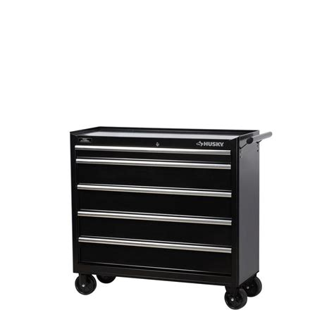 husky 41 in w 5 drawer tool cabinet hmt405bdlx16 the