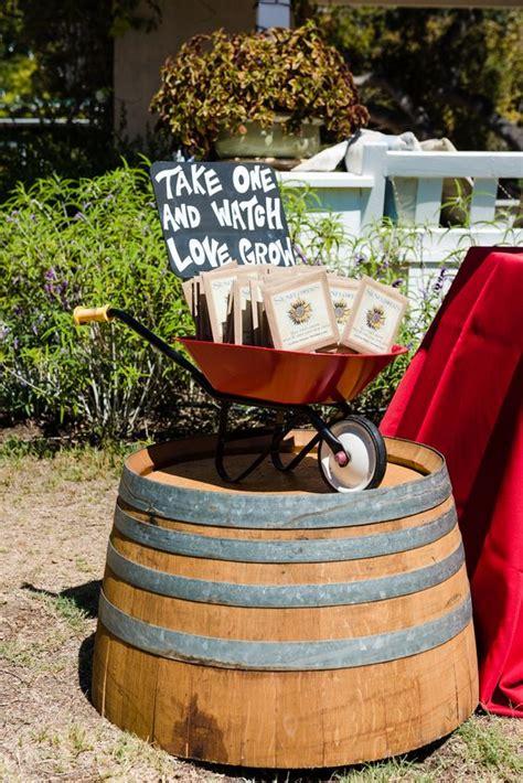 wagon wheelbarrow country wedding ideas deer pearl