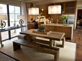 dining room kitchen ideas photos hgtv