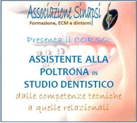 Assistente Alla Poltrona Udine by Corso Di Assistente Alla Poltrona In Studio Dentistico