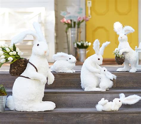 bunny decorations 25 minimalist white easter decoration inspirations