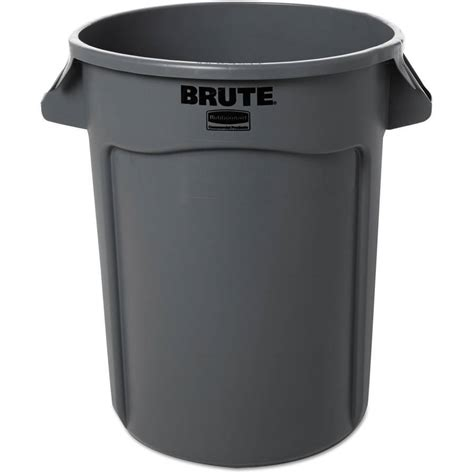 rubbermaid garbage shed rubbermaid 32 gal brute recycling plastic container