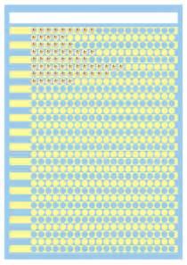 Gold Star Sticker Chart