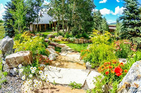 green landscape design portfolio of our work crested butte s best landscaping keep it green landscape design