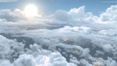 Cloud Animated Wallpaper - animated clouds motion background