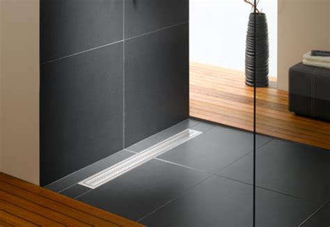 floor level shower system poresta bfr universal drain
