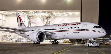 royal air maroc r 233 ception d un cinqui 232 me boeing 787 pouvant accueillir 274 passagers en deux