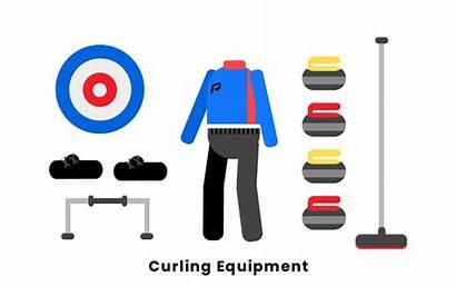 Equipment Curling Broom Sheet Stabilizer Playing Pebbler