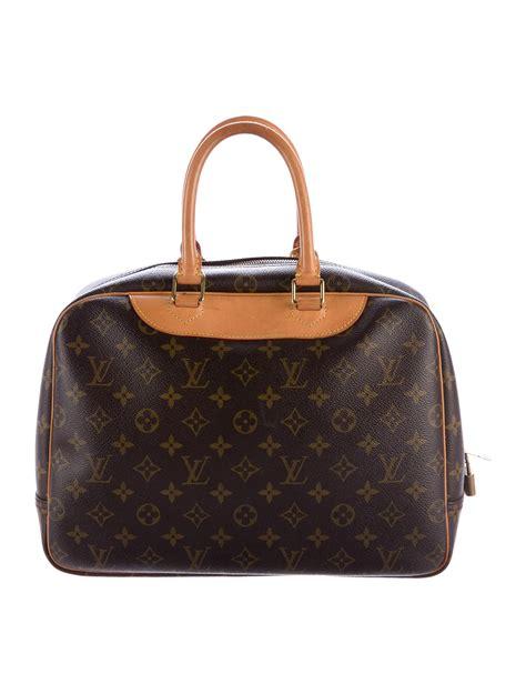 louis vuitton monogram deauville bag handbags lou  realreal