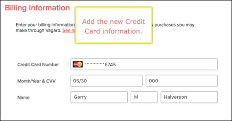 Virtual credit card generator—how does it work? How to Change the Billing Information - Vagaro Support
