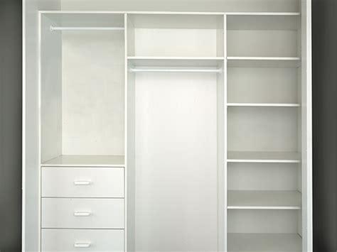 home interior representative standard wardrobe internals regency