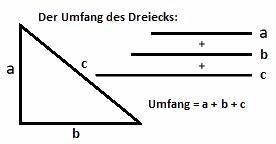 Innenwinkel Dreieck Berechnen Vektoren : der umfang von quadrat rechteck und parallelogramm ~ Themetempest.com Abrechnung