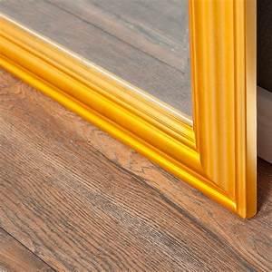 Spiegel 50 X 70 : b ware wandspiegel onda 70x50cm glanz gold spiegel holzrahmen schlicht modern ebay ~ Bigdaddyawards.com Haus und Dekorationen
