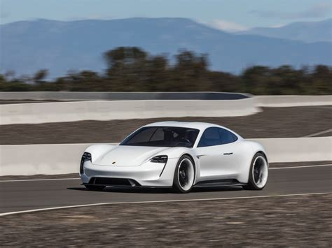 porsche tesla price porsche reveals new mission e new photos details