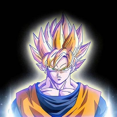 Goku Mueven Gifs Imagenes Powering Animados Wallpapers