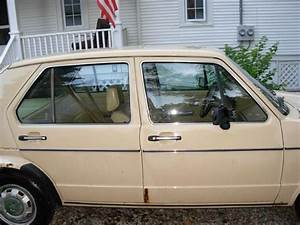 Sell Used 1983 Volkswagen Rabbit Ls Hatchback 4