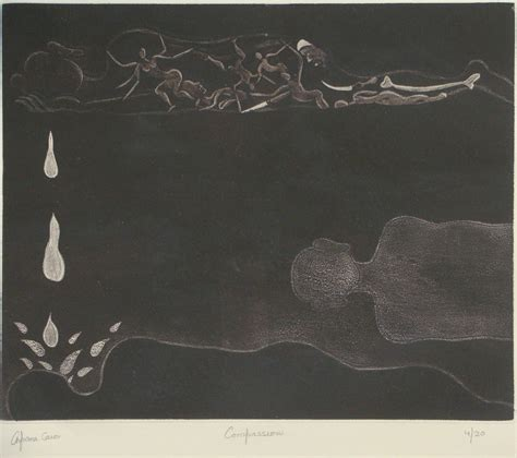 Arpana Caur Compassion Etching 29 x 41 cm | Indian artist ...