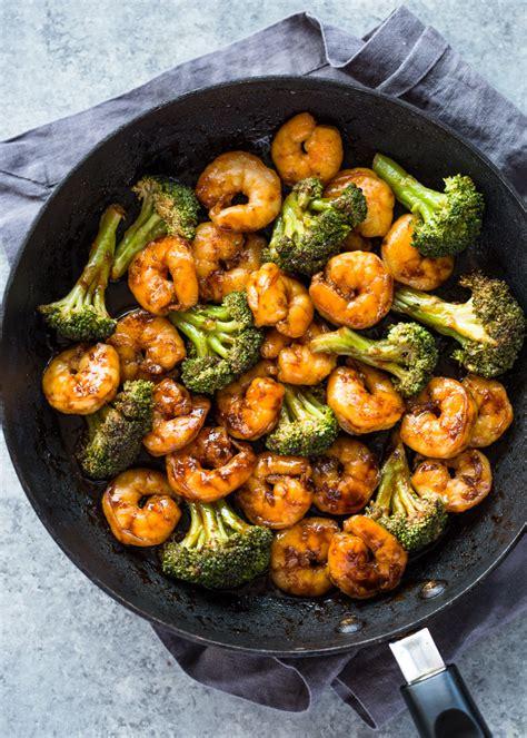 quick  minute shrimp teriyaki stir fry gimme delicious