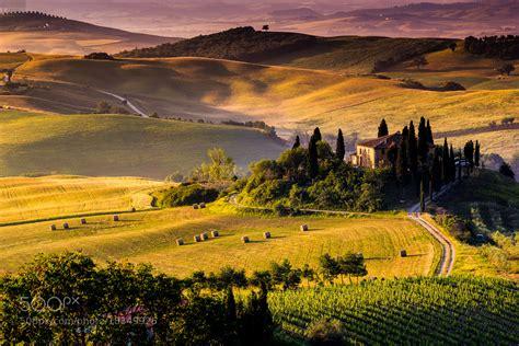 Photograph Italian Countryside By Francesco Riccardo