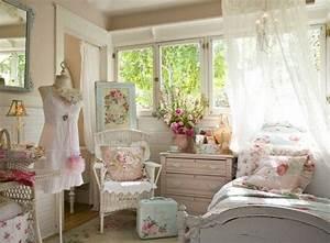 Shabby Chic Schlafzimmer : schlafzimmer romantisch rosa ~ Sanjose-hotels-ca.com Haus und Dekorationen