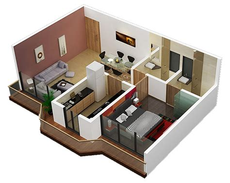 1 Bedroom Design Plan by Plans For Small Apartment Interior Design 3 Sweet Home