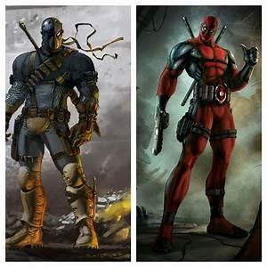 1. Deadpool vs. Deathstroke by ZiggytheNinja on DeviantArt