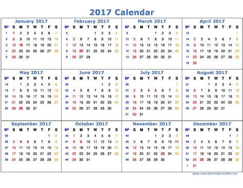 free printable 2017 calendar 2017 calendar printable with holidays calendar free free