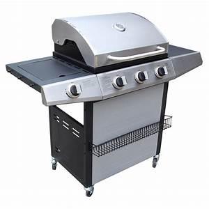 Prix D Un Barbecue : barbecue gaz 3 1 avec grille et plancha acoma ~ Premium-room.com Idées de Décoration