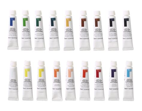 reeves acrylic paints assorted colors school specialty