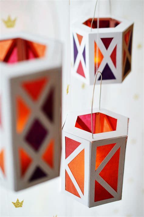 how to make christmas lanterns holiday celebrations diy paper lanterns motte